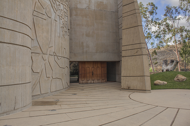 The building called the 'House of the Book' on the American Jewish University's Brandeis-Bardin Campus in Simi Valley, Calif., pictured on Dec. 4, 2014. (Steve Silva)