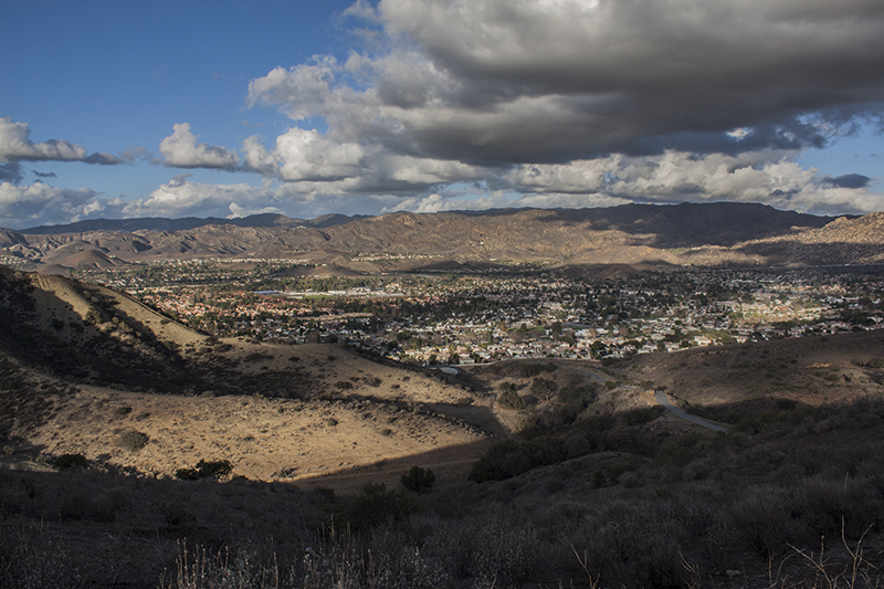 East Simi Valley, Calif., viewed from the Jewish University's Brandeis-Bardin Campus on Dec. 4, 2014. (Steve Silva)
